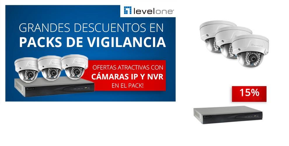 grandes descuentos level one video vigilancia