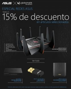 descuento router gaming asus