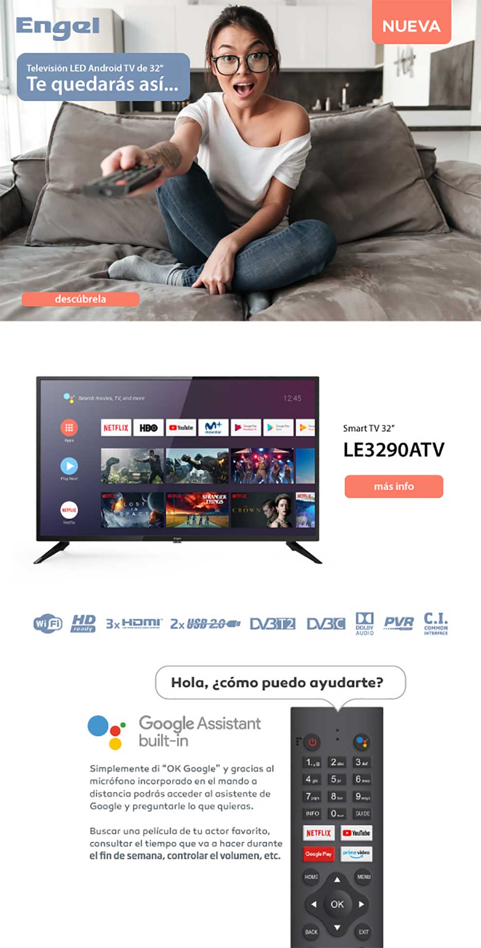 comprar tv android