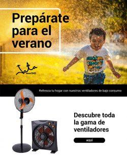 oferta ventiladores y atrapamosquitos