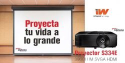 chollo proyector Optoma con HDMI