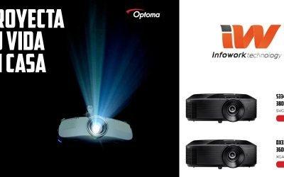 Proyecta tu vida en casa con Optoma