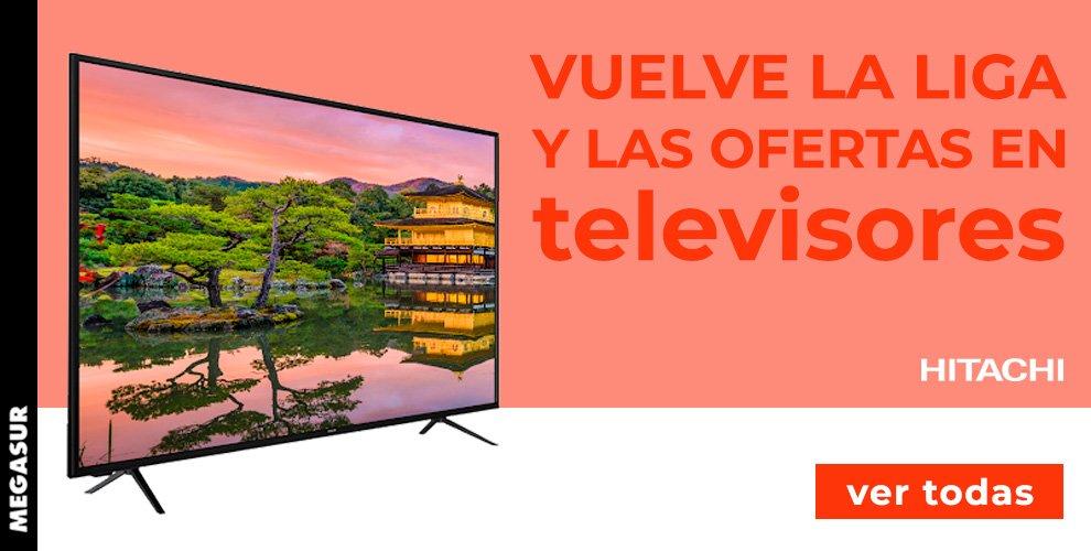 oferta televisores hitachi