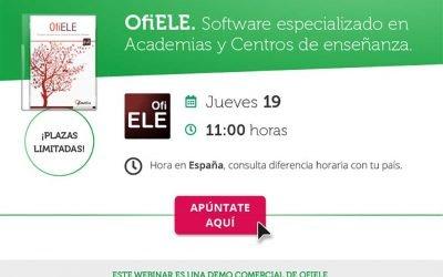 Webinar comercial OfiELE en Ofimática
