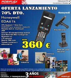 oferta Terminal portátil ScanPal EDA61K