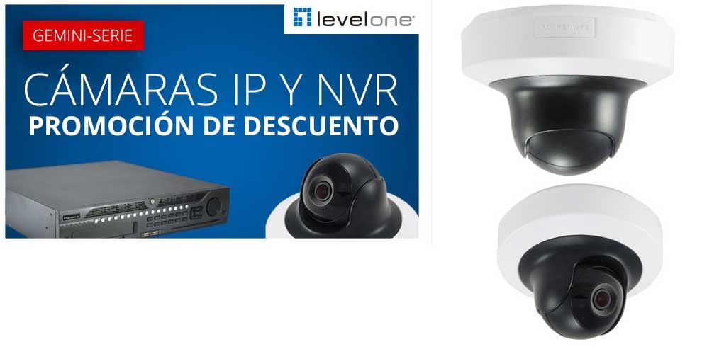 ahorra con camaras IP LevelOne