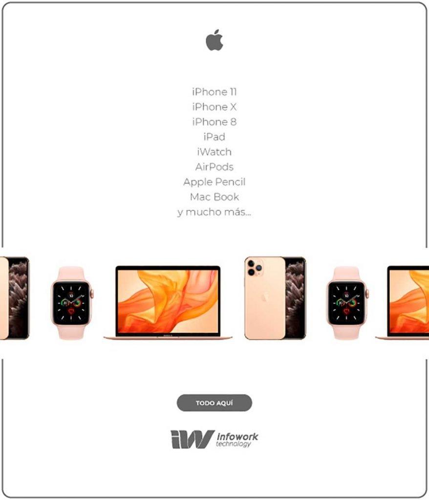 mejores descuentos apple en Infowork