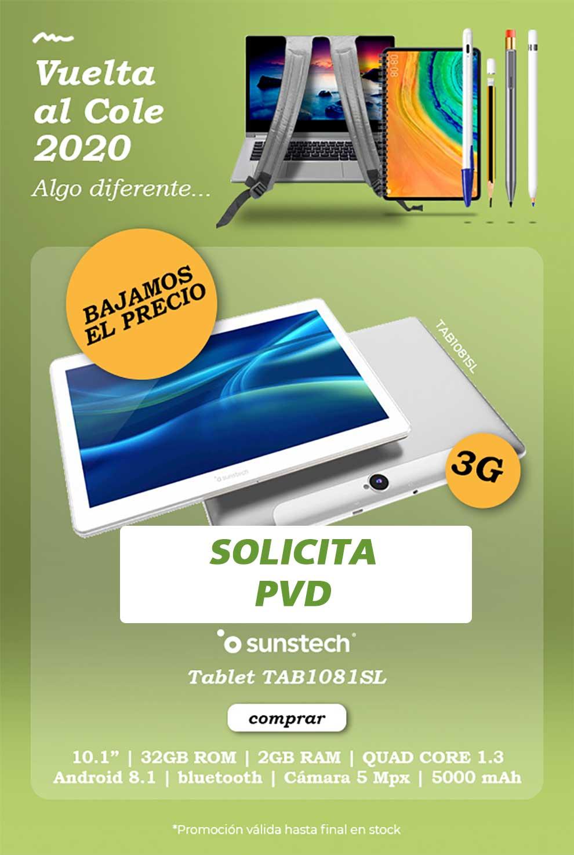 Mejor precio tablet para la Vuelta al Cole