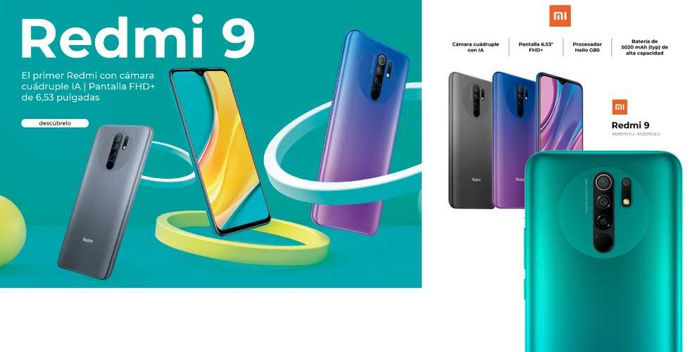 mejor precio Xiaomi redmi 9