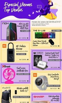 especial viernes top ventas MCR