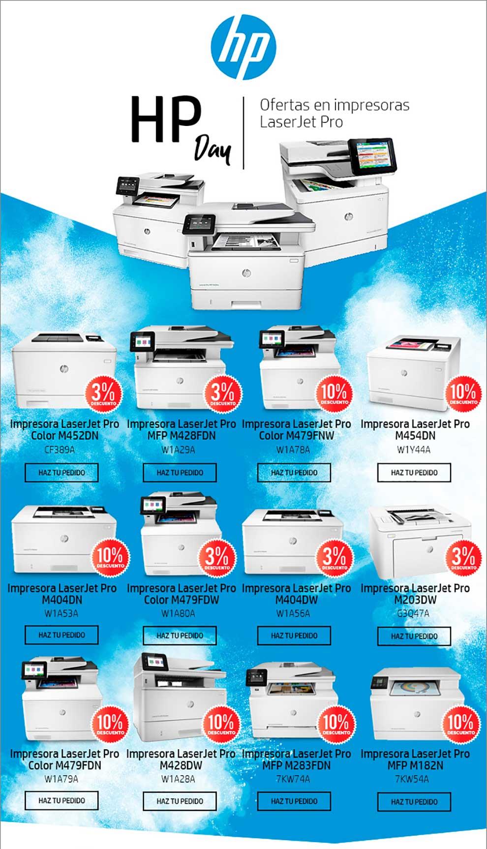 Ofertas impresión HP Day