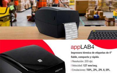 Impresora térmica de etiquetas Approx appLAB4
