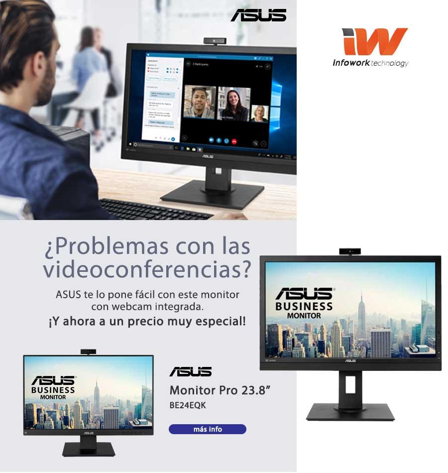 oferta monitor asus con webcam