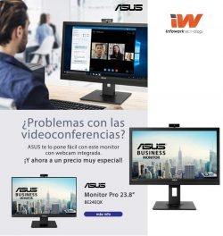 oferta monitor asus con webcam