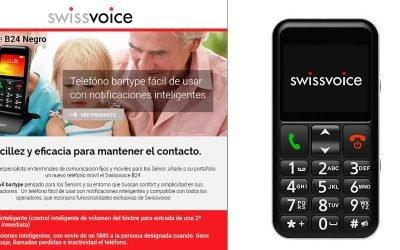 Sencillez y eficacia con SwissVoice B24
