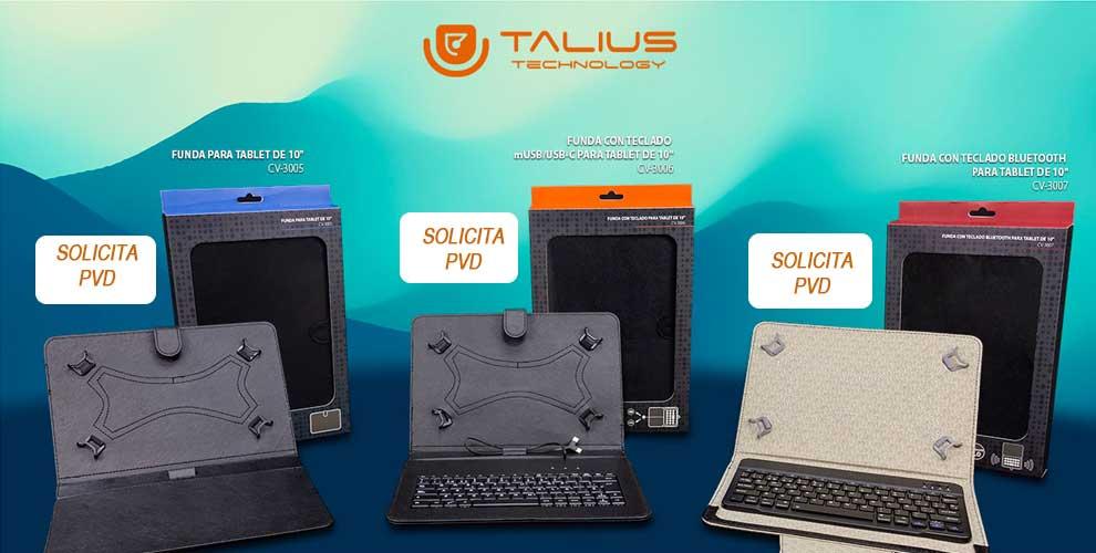 NOvedad fundas tablet Talius