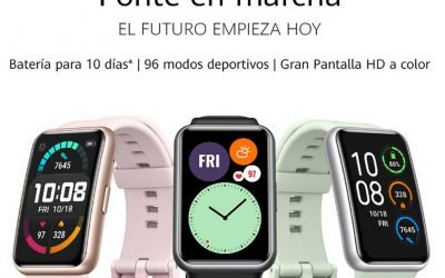 Ponte en forma con Huawei Watch Fit