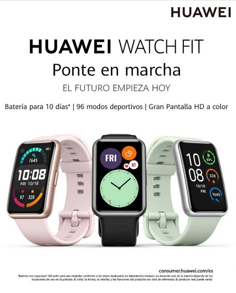 mejor precio huawei watch fit