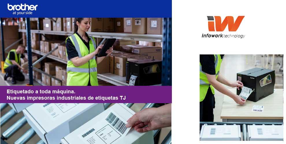 impresoras brother TJ etiquetado industrial