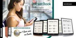 novedad ereaders pocketbook en Megasur