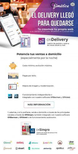 OfiDelivery solución web completa