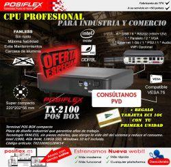 CPU Profesional TX-2100 de Posiflex