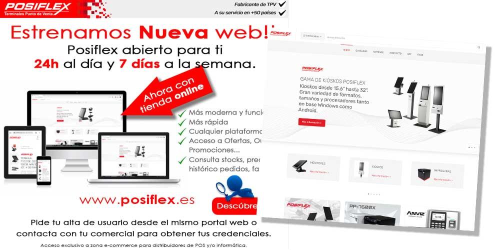 Posiflex estrena nueva web