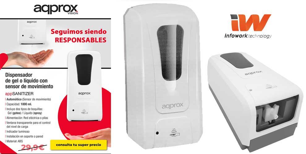 oferton dispensador automatico app sanitizer