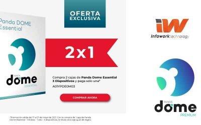 Oferta exclusiva 2×1 con Panda Dome