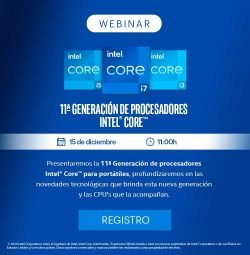 webinar gratuito Intel Core