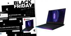 Black Friday portatiles gaming MSI