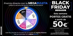 Black Friday Megasur Mayoristas informatica