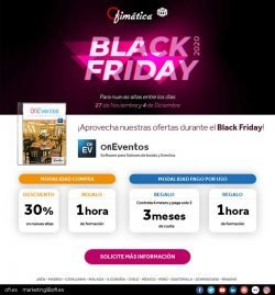 Black Friday Ofimática con OfiEventos