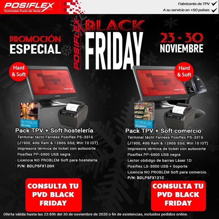 Black Friday TPV para comercio y hosteleria
