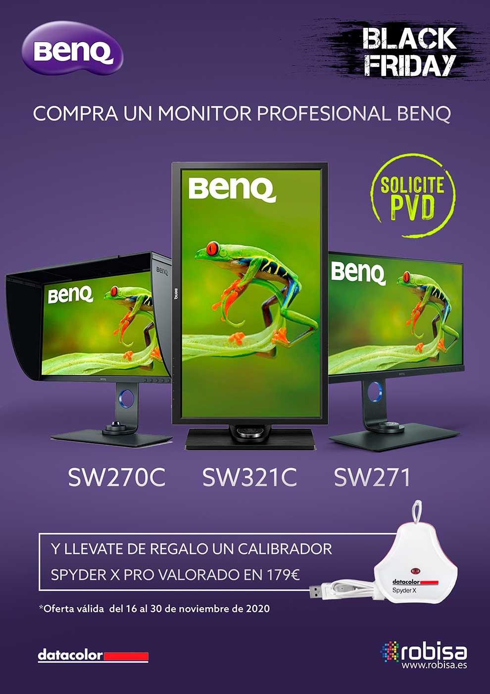 blackfriday monitores profesionales