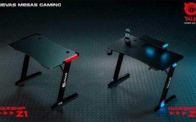 Nuevas mesas gaming Talius Warship Z1 y Z2