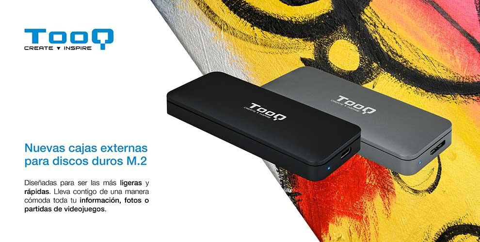 Novedad cajas externas SSD M.2
