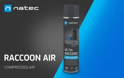 Aire comprimido Raccoon Air de Natec