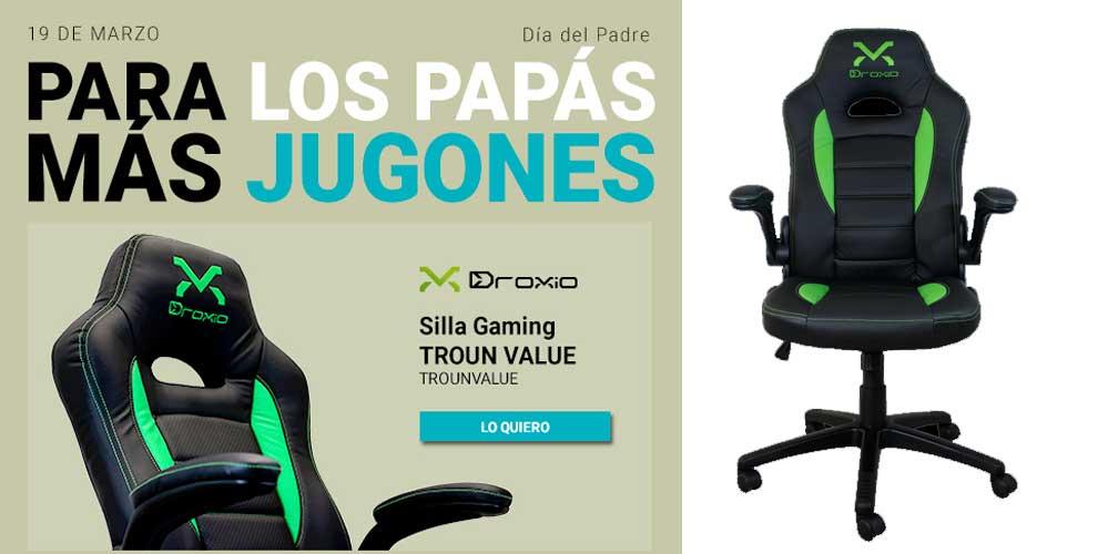 La silla gaming para el día del padre