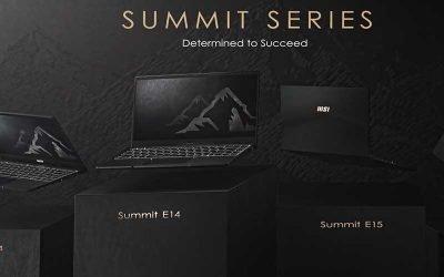 MSI Summit Series, los mejores business laptops