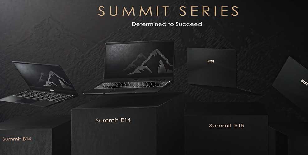 rebajas portatil para negocios MSI Summit
