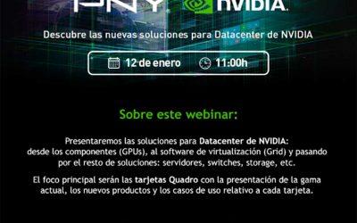 Webinar PNY Nvidia sobre soluciones de datacenter