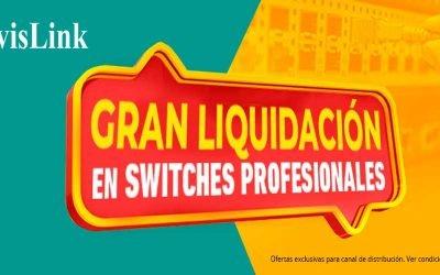 Gran liquidación de switches profesionales