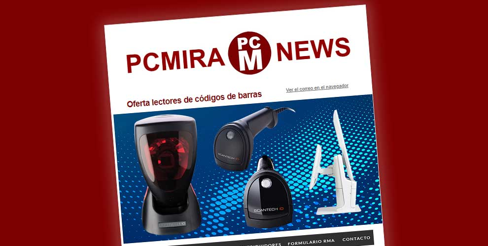 pcmira news tpv, logistica, retail