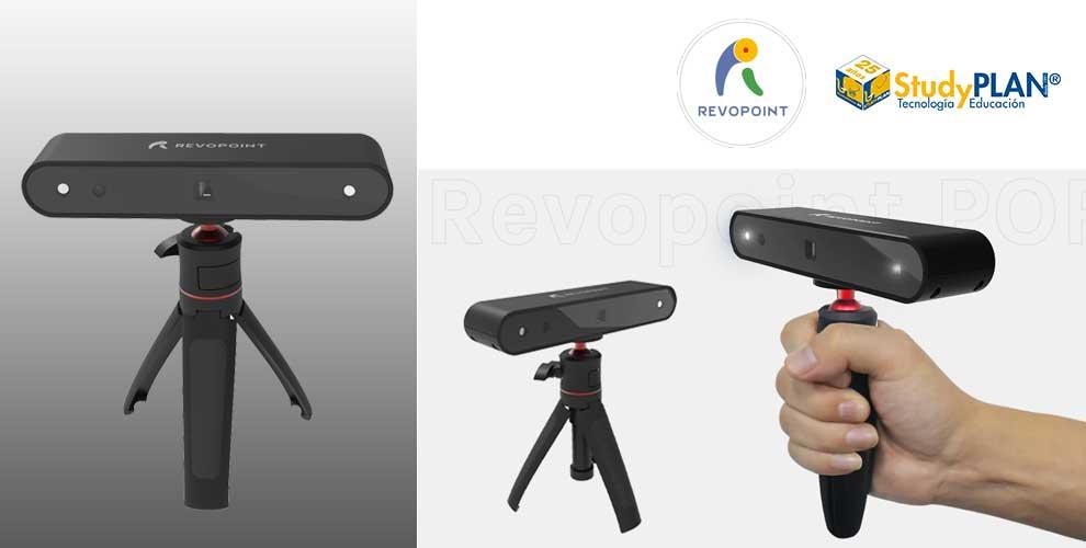 Revopoint el primer escáner 3D HD de bajo coste