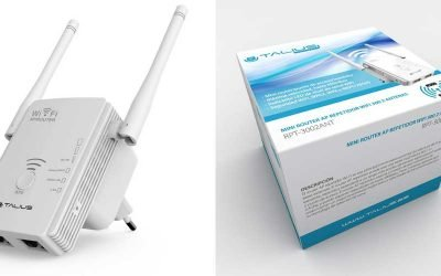 Repetir Talius AP 300MB 2 antenas