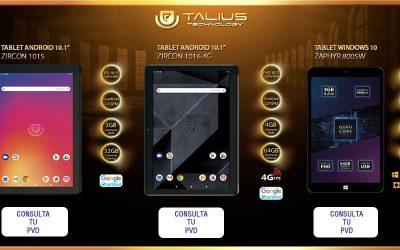 tablets Talius, avanzadas, rápidas y polivalentes