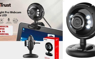 Spotlight Pro webcam con LED