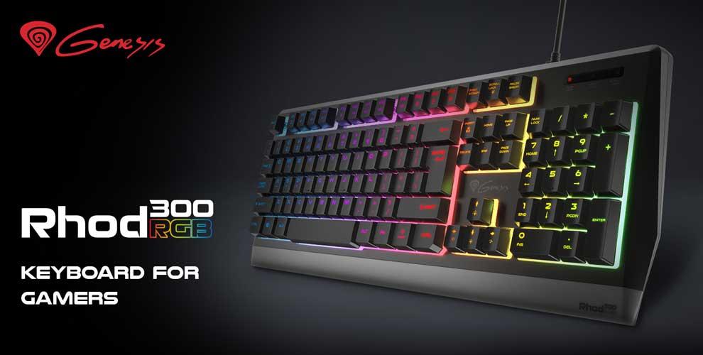 novedad teclado gaming rhod 300 rgb