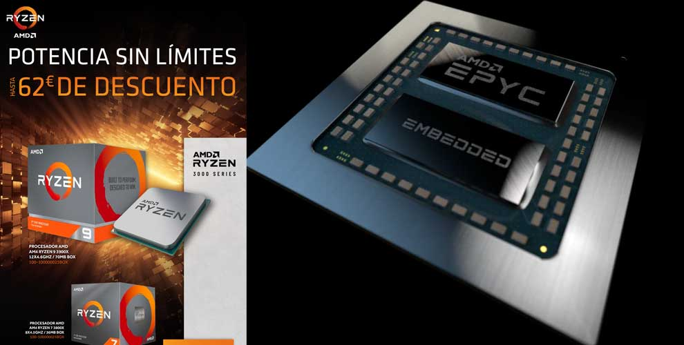 mejor precio procesadores AMD